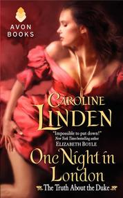 One Night in London by Caroline Linden Cover