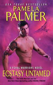 Ecstasy Untamed by Pamela Palmer Cover