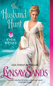 The Husband Hunt by Lynsay Sands Cover