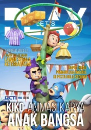 LET'S PLAY Magazine Cover August 2018