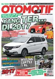 Cover Majalah OTOMOTIF ED 33 Desember 2017