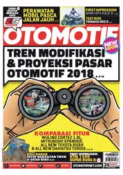 Cover Majalah OTOMOTIF ED 34 Januari 2018