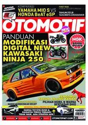 Cover Majalah OTOMOTIF ED 35 Januari 2018