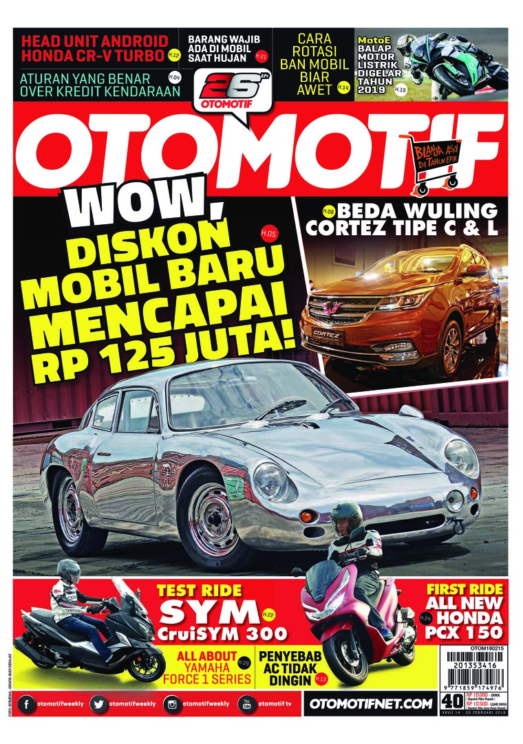 Majalah Digital OTOMOTIF ED 40 Februari 2018
