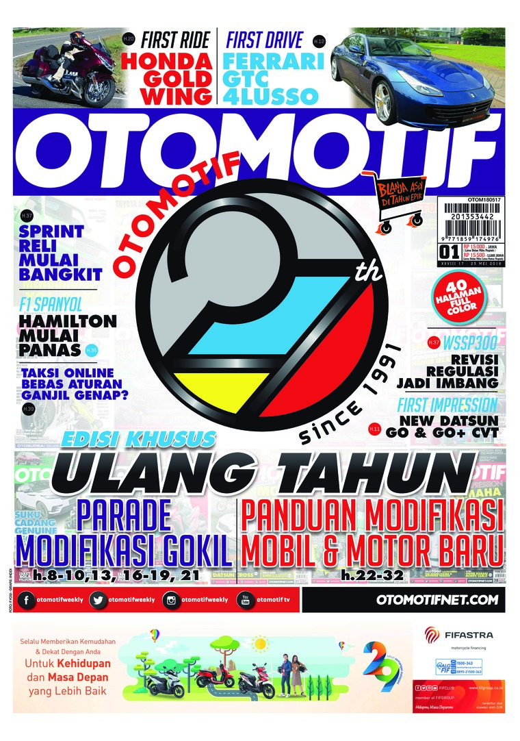 OTOMOTIF Digital Magazine ED 01 May 2018