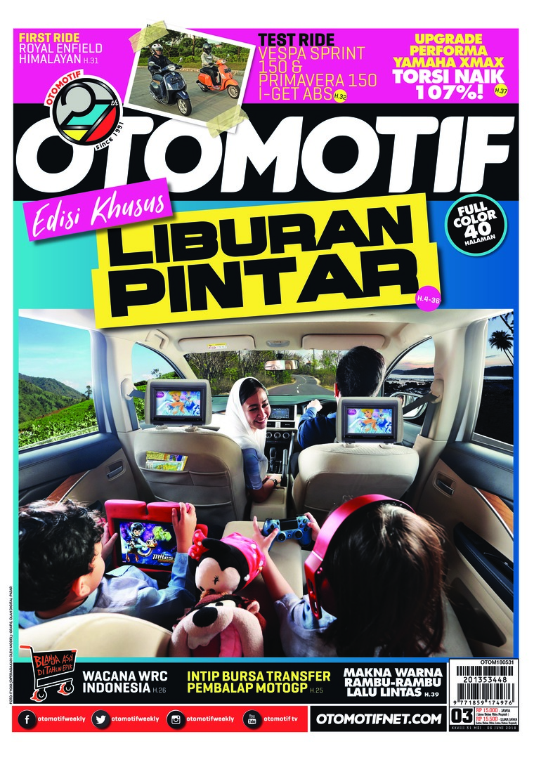 OTOMOTIF Digital Magazine ED 03 May 2018