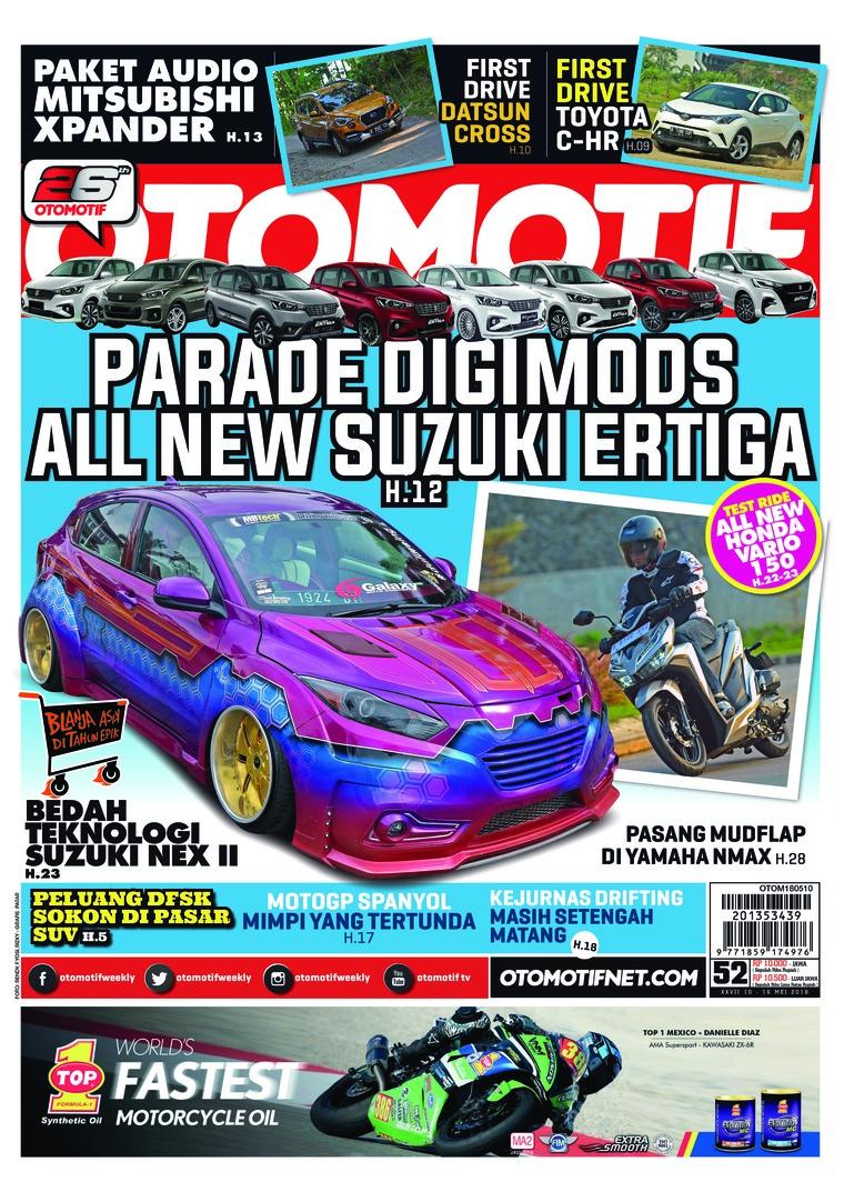 Majalah Digital OTOMOTIF ED 52 Mei 2018