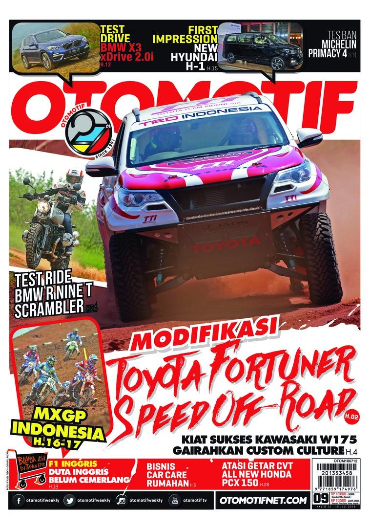 Majalah Digital OTOMOTIF ED 09 Juli 2018