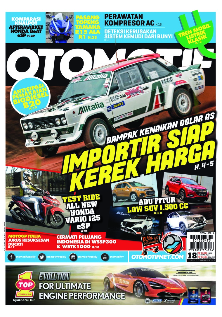Majalah Digital OTOMOTIF ED 18 September 2018