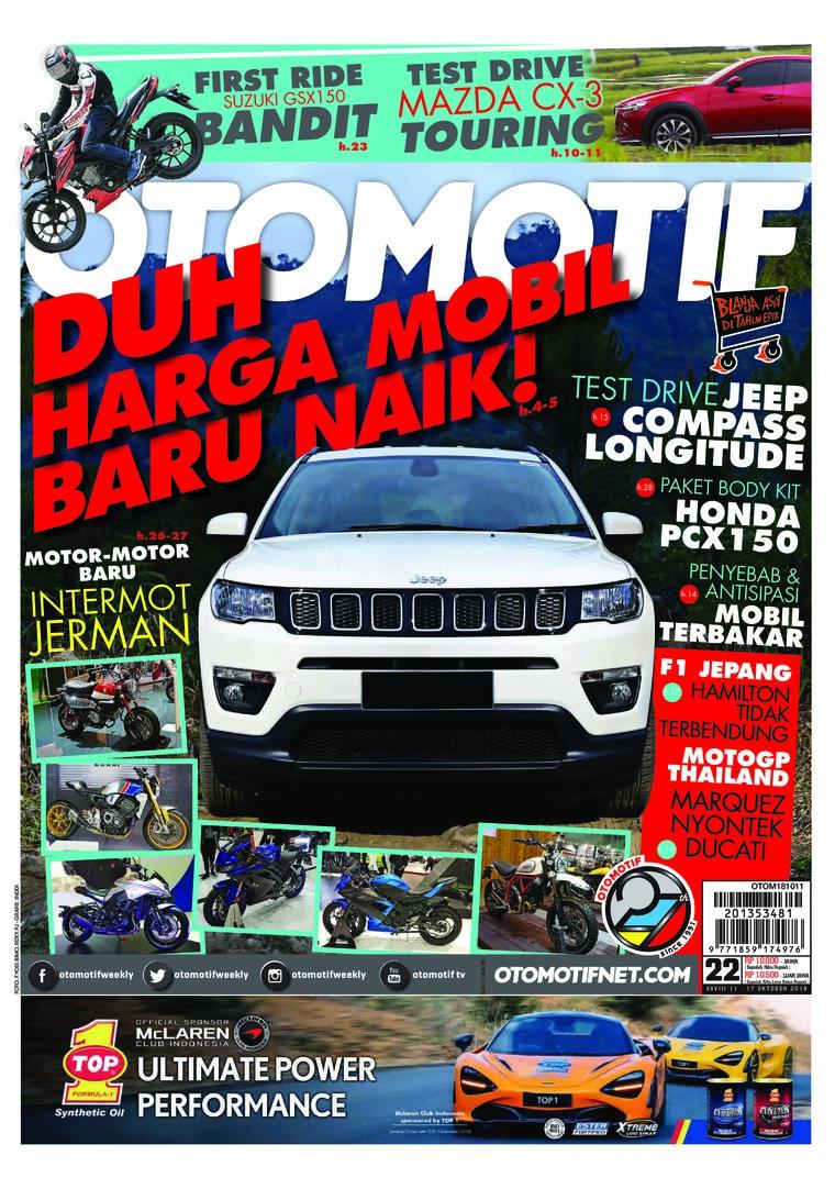Majalah Digital OTOMOTIF ED 22 Oktober 2018