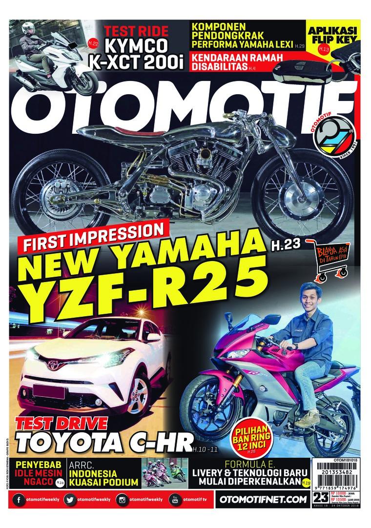 Majalah Digital OTOMOTIF ED 23 Oktober 2018