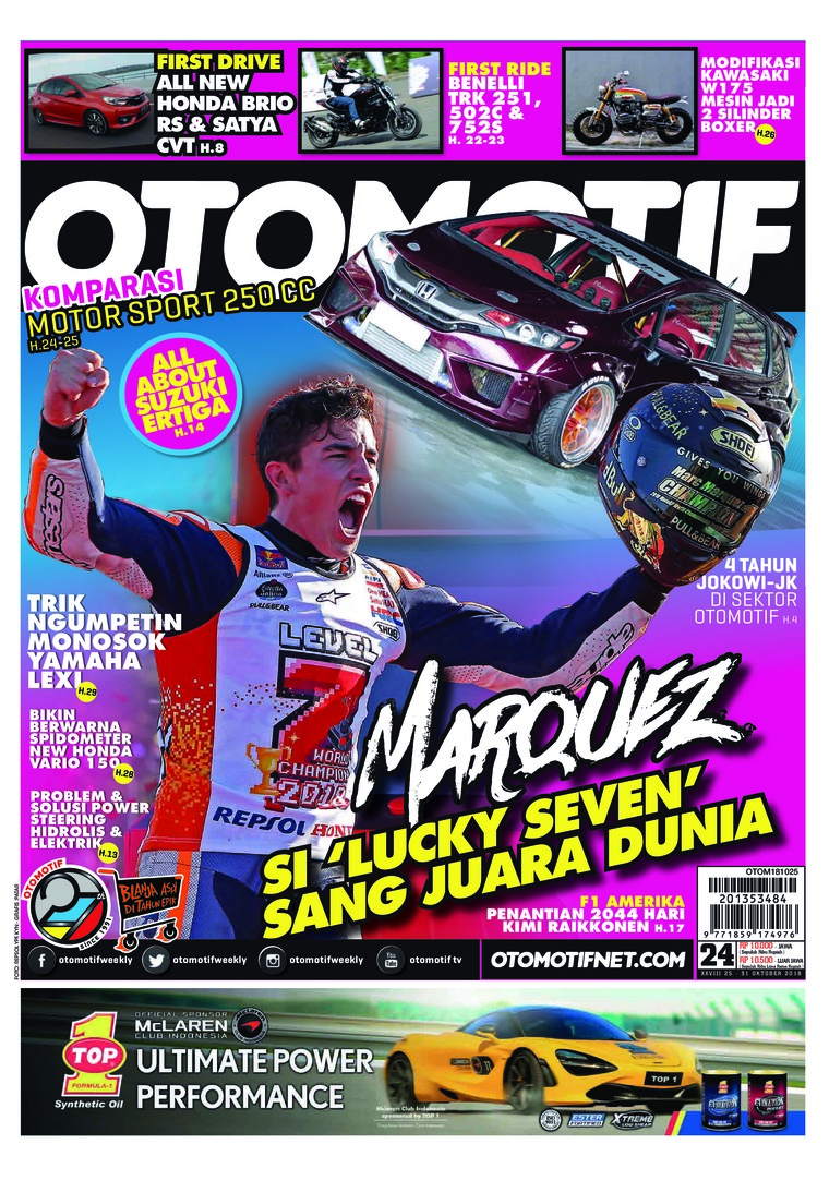 Majalah Digital OTOMOTIF ED 24 Oktober 2018