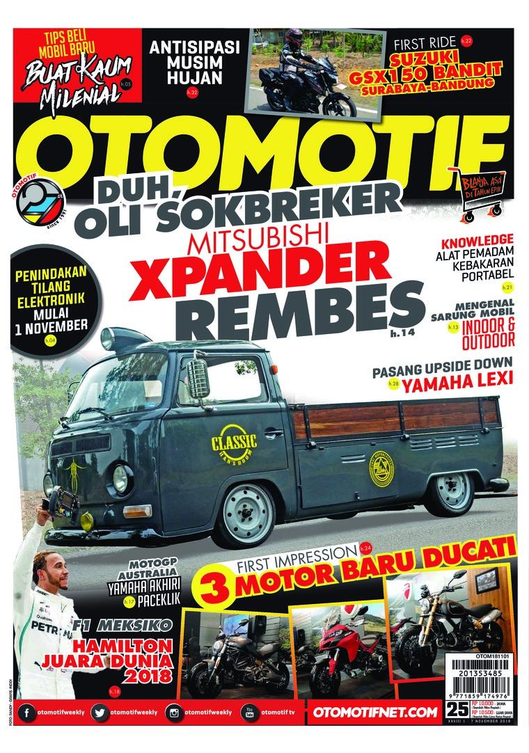 Majalah Digital OTOMOTIF ED 25 Oktober 2018