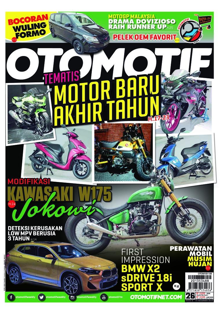 Majalah Digital OTOMOTIF ED 26 November 2018