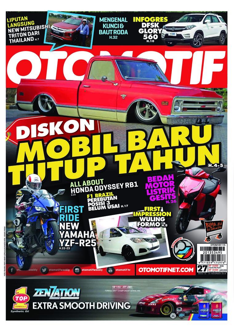 Majalah Digital OTOMOTIF ED 27 November 2018