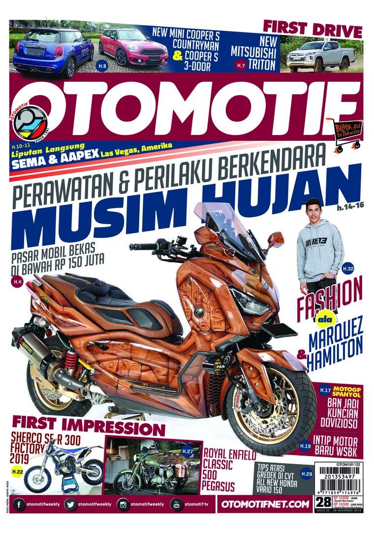 Majalah Digital OTOMOTIF ED 28 November 2018