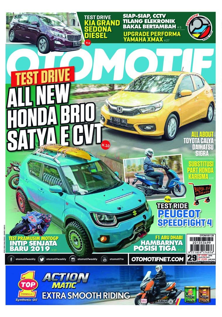 Majalah Digital OTOMOTIF ED 29 November 2018