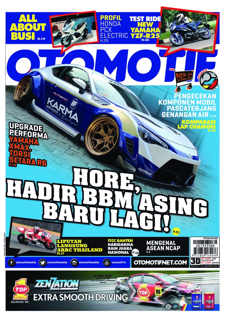OTOMOTIF Digital Magazine ED 30 December 2018