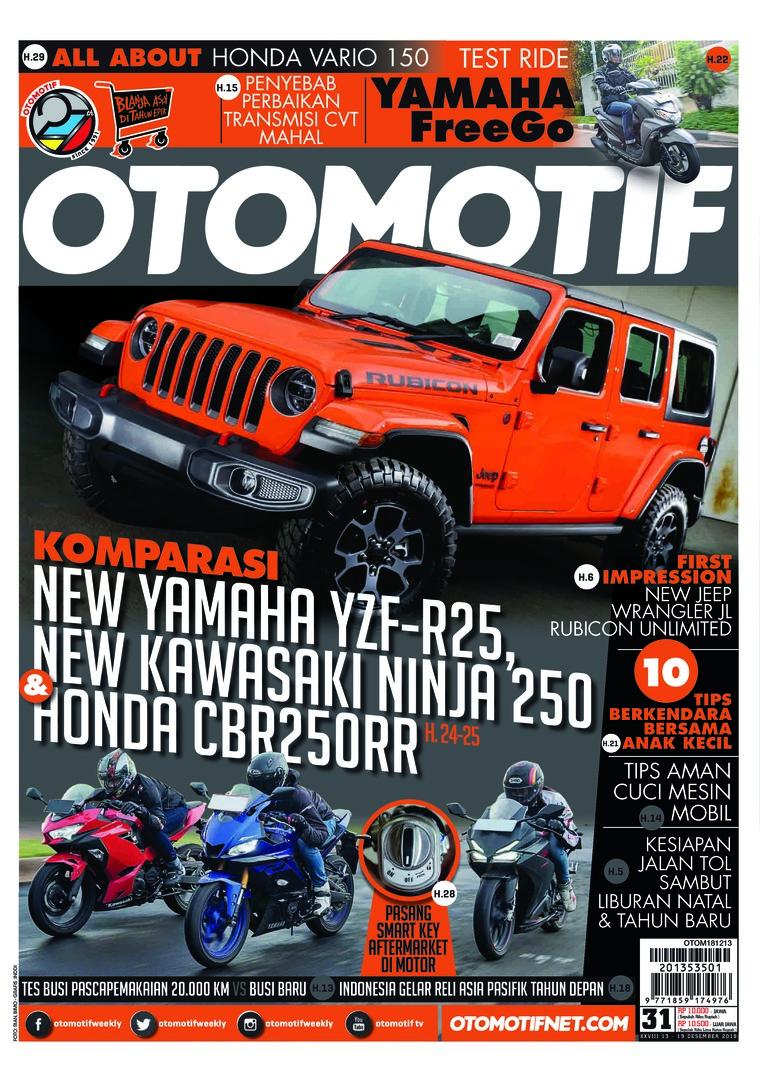 Majalah Digital OTOMOTIF ED 31 Desember 2018