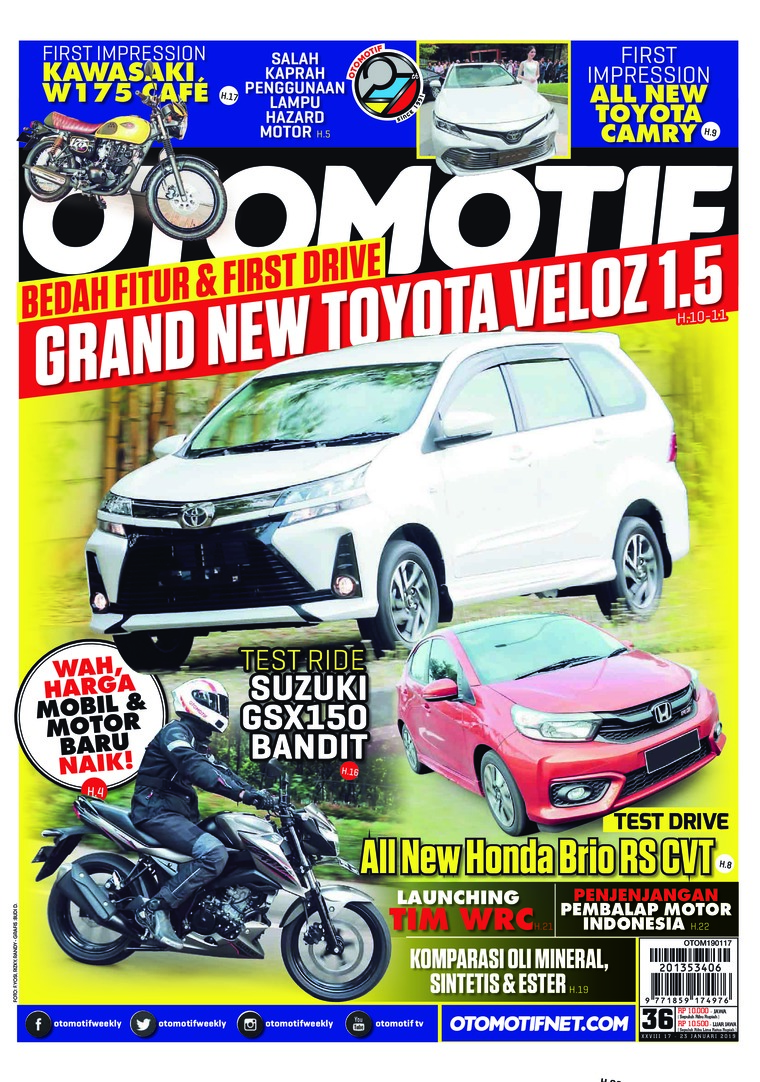 OTOMOTIF Digital Magazine ED 36 January 2019