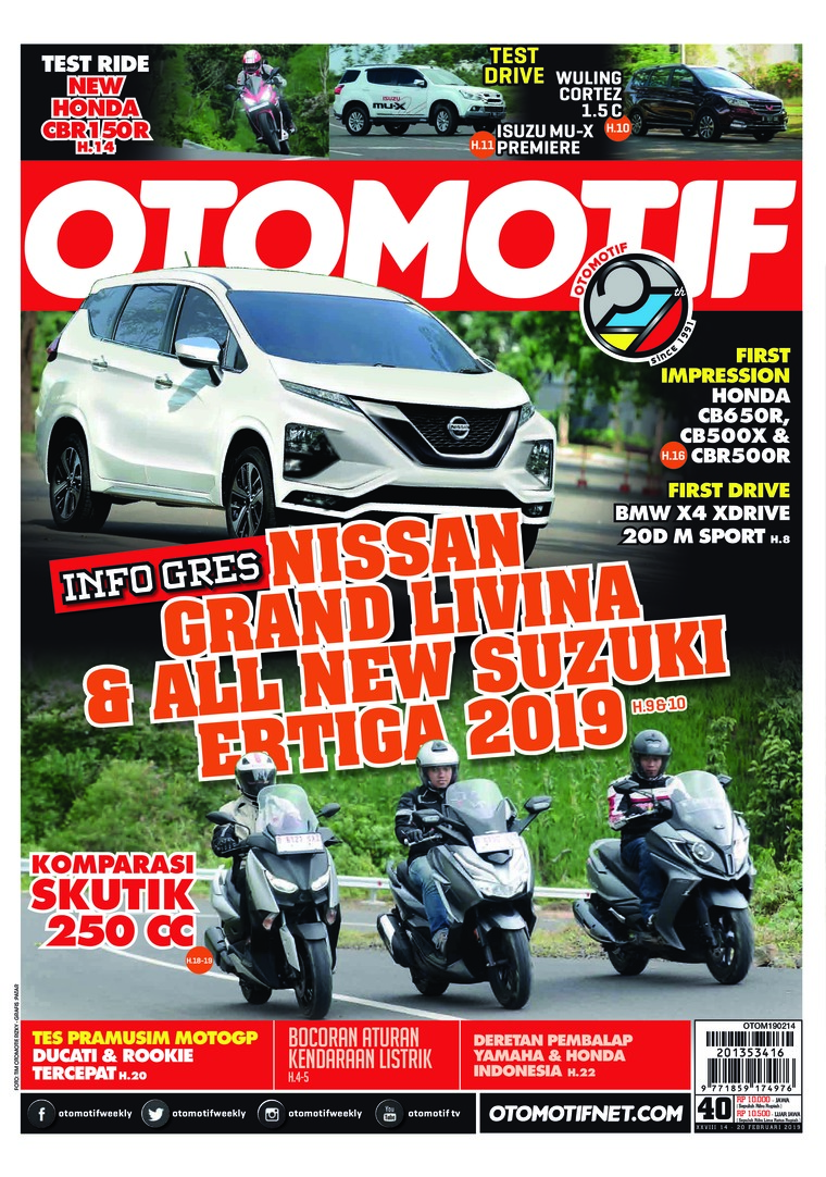 OTOMOTIF Digital Magazine ED 40 February 2019