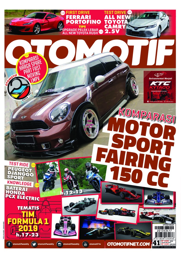 OTOMOTIF Digital Magazine ED 41 February 2019