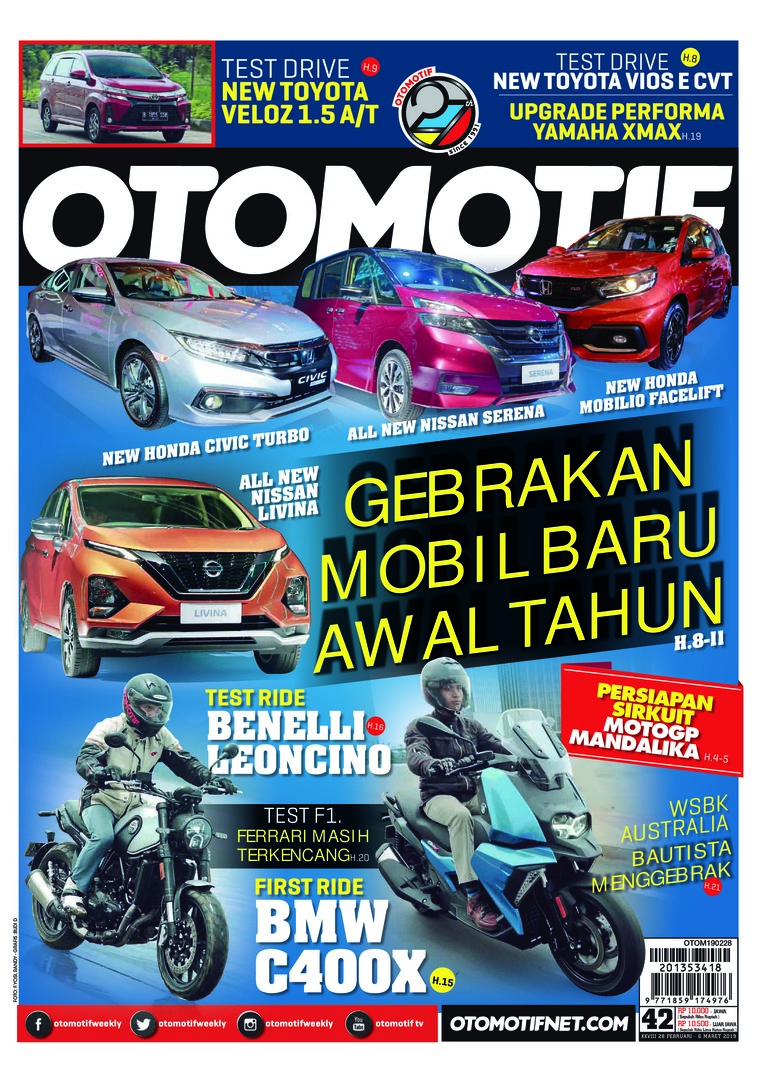 OTOMOTIF Digital Magazine ED 42 March 2019