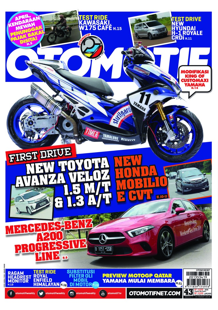 OTOMOTIF Digital Magazine ED 43 March 2019