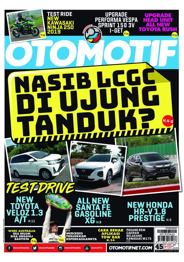 Majalah Digital OTOMOTIF ED 45 Maret 2019