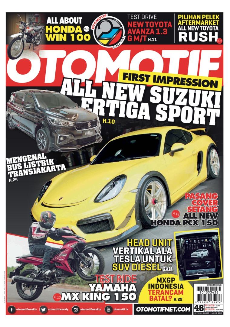 OTOMOTIF Digital Magazine ED 46 March 2019
