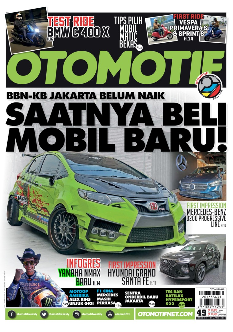 OTOMOTIF Digital Magazine ED 49 April 2019