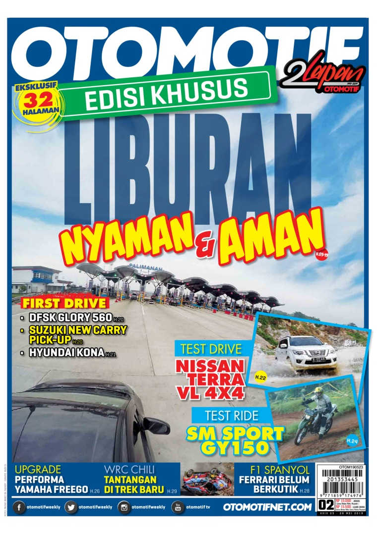 OTOMOTIF Digital Magazine ED 02 May 2019