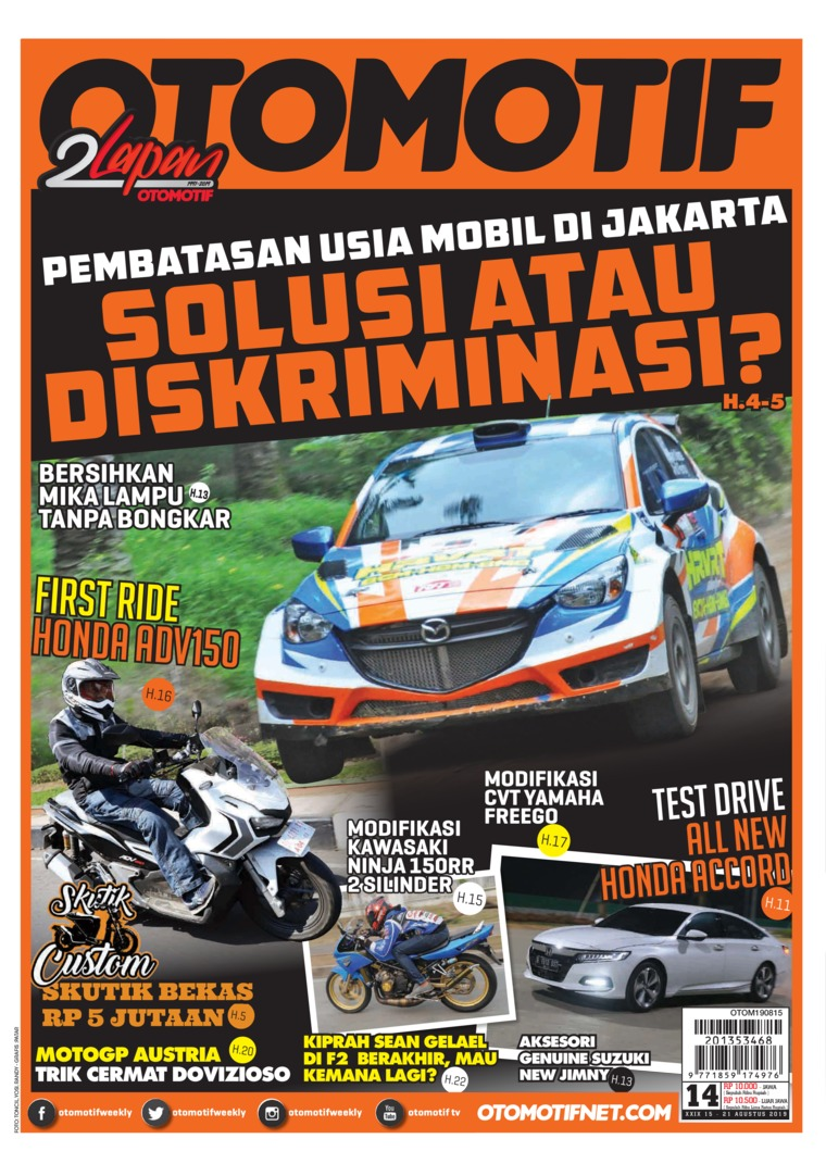 OTOMOTIF Digital Magazine ED 14 August 2019