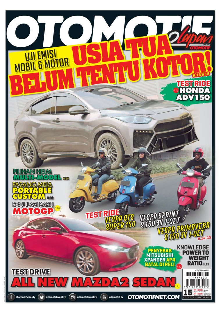OTOMOTIF Digital Magazine ED 15 August 2019