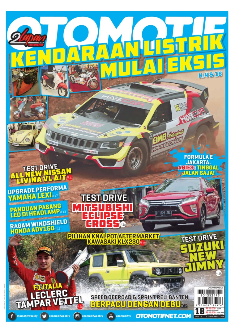 OTOMOTIF Digital Magazine ED 18 September 2019