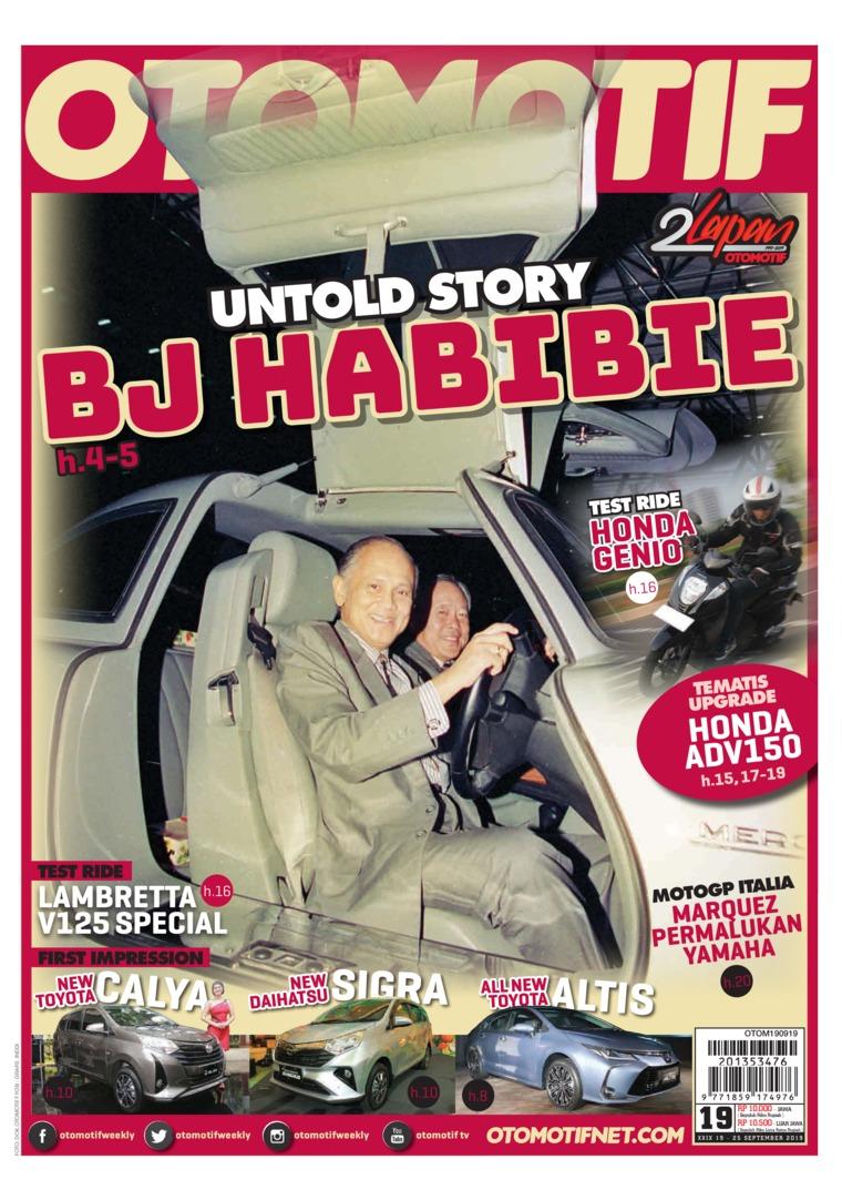 OTOMOTIF Digital Magazine ED 19 September 2019