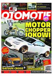 Cover Majalah OTOMOTIF ED 37 Januari 2018