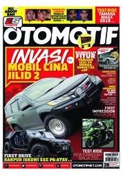 Cover Majalah OTOMOTIF ED 39 Februari 2018