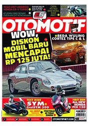 OTOMOTIF Magazine Cover ED 40 February 2018