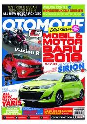 Cover Majalah OTOMOTIF ED 41 Februari 2018