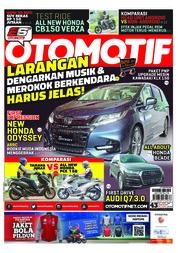 Cover Majalah OTOMOTIF ED 43 Maret 2018