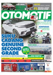 OTOMOTIF Magazine Cover ED 44 March 2018