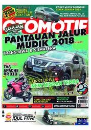 Cover Majalah OTOMOTIF ED 05 Juni 2018