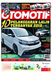 Cover Majalah OTOMOTIF ED 06 Juni 2018