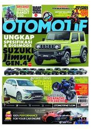 Cover Majalah OTOMOTIF ED 08 Juli 2018
