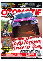 Cover Majalah OTOMOTIF ED 09 Juli 2018