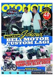 Cover Majalah OTOMOTIF ED 11 Juli 2018