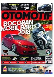 Cover Majalah OTOMOTIF ED 12 Agustus 2018