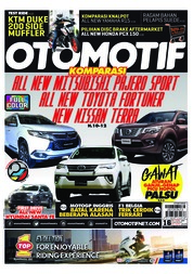 Cover Majalah OTOMOTIF ED 16 Agustus 2018