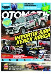 Cover Majalah OTOMOTIF ED 18 September 2018